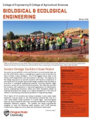 picture of the cover page for 2018's newsletter